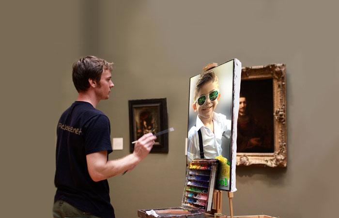 موك اب عرض  الصور على لوحة الرسام( 101 )