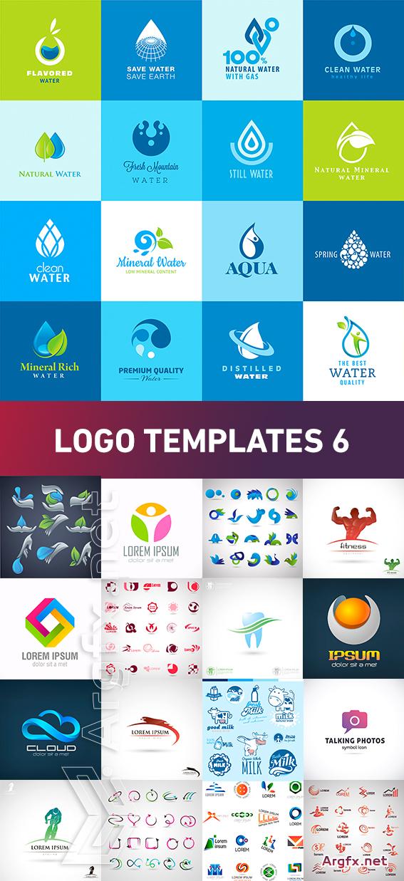 Logo Templates 6, 25xEPS
